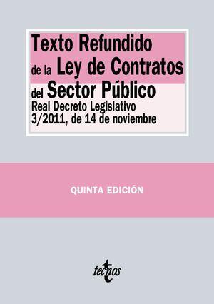 TEXTO REFUNDIDO DE LA LEY DE CONTRATOS DEL SECTOR PÚBLICO