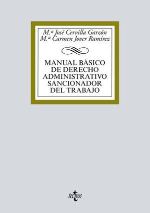 MANUAL BÁSICO DE DERECHO ADMINISTRATIVO SANCIONADOR DEL TRABAJO