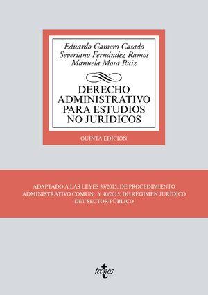 DERECHO ADMINISTRATIVO PARA ESTUDIOS NO JURÍDICOS