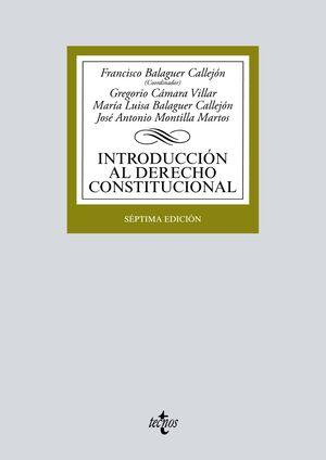 INTRODUCCIÓN AL DERECHO CONSTITUCIONAL
