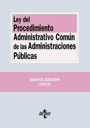 LEY DEL PROCEDIMIENTO ADMINISTRATIVO COMÚN DE LAS ADMINISTRACIONES PÚBLICAS