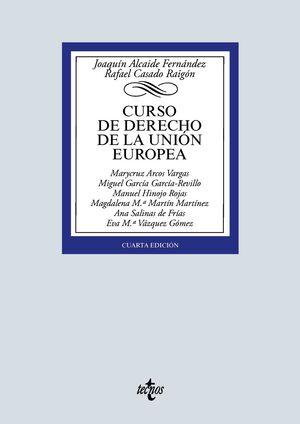 CURSO DE DERECHO DE LA UNIÓN EUROPEA. 4ª ED. 2020