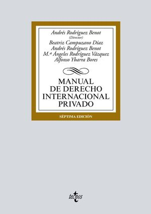 MANUAL DE DERECHO INTERNACIONAL PRIVADO