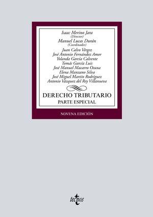 DERECHO TRIBUTARIO. PARTE ESPECIAL. 9ª ED. 2020