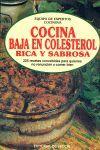 COCINA BAJA EN COLESTEROL, RICA Y SABROSA