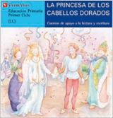 LA PRINCESA DE LOS CABELLLOS DORADOS (AZUL)