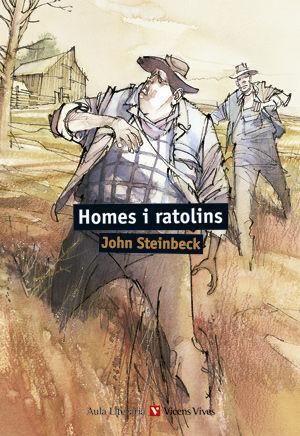 HOMES I RATOLINS. COL.LECCIO AULA LITERARIA.
