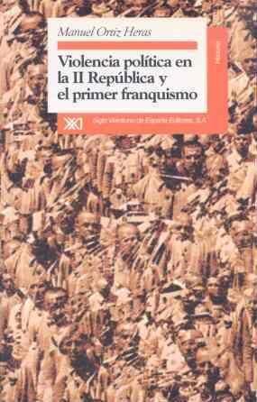 VIOLENCIA POLÍTICA EN LA II REPÚBLICA Y EL PRIMER FRANQUISMO : ALBACETE, 1936-1950