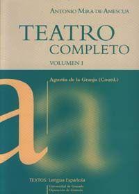 TEATRO COMPLETO. VOLUMEN I.