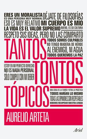 TANTOS TONTOS TÓPICOS
