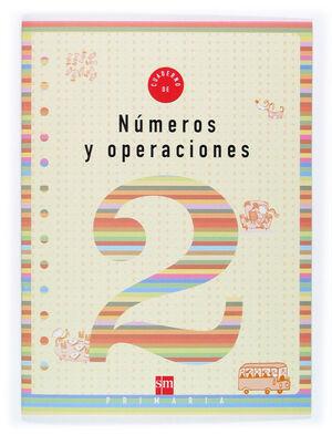CUADERNO 2 DE NÚMEROS Y OPERACIONES. 1 PRIMARIA