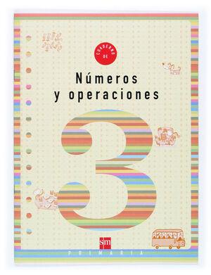 CUADERNO 3 DE NÚMEROS Y OPERACIONES. 1 PRIMARIA