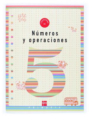 CUADERNO 5 DE NÚMEROS Y OPERACIONES. 2 PRIMARIA