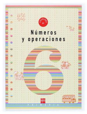 CUADERNO 6 DE NÚMEROS Y OPERACIONES. 2 PRIMARIA