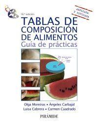 TABLAS DE COMPOSICIÓN DE ALIMENTOS : GUÍA DE PRÁCTICAS. 16ª ED.