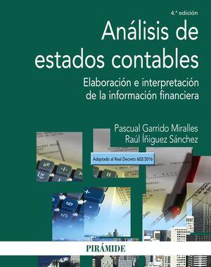ANÁLISIS DE ESTADOS CONTABLES 4ª ED.