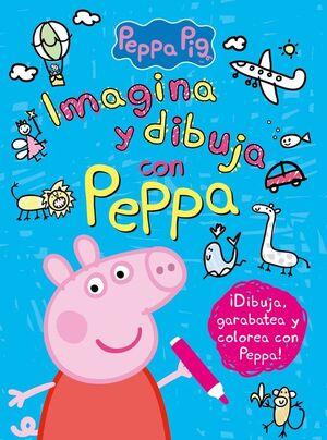 IMAGINA Y DIBUJA CON PEPPA (PEPPA PIG. ACTIVIDADES)