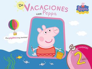DE VACACIONES CON PEPPA - 2 AÑOS (PEPPA PIG. CUADERNO DE ACTIVIDADES)