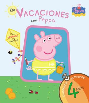 DE VACACIONES CON PEPPA - 4 AÑOS (PEPPA PIG. CUADERNO DE ACTIVIDADES)