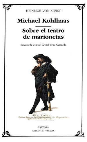 MICHAEL KOHLHAAS; SOBRE EL TEATRO  DE MARIONETAS