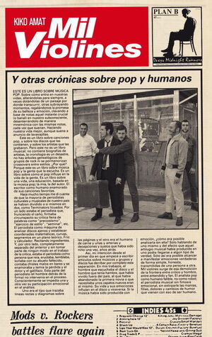 MIL VIOLINES Y OTRAS CRÓNICAS SOBRE POP Y HUMANOS