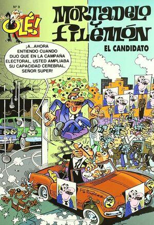 EL CANDIDATO (OLÉ! MORTADELO 9)
