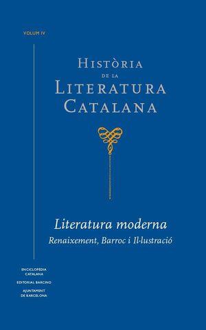 HISTÒRIA DE LA LITERATURA CATALANA VOL. 4