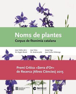 NOMS DE PLANTES : CORPUS DE FITONÍMIA CATALANA
