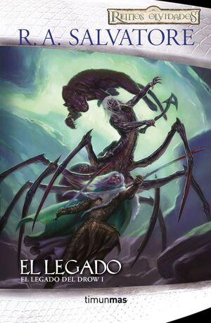 EL LEGADO DEL DROW Nº 01/04 EL LEGADO
