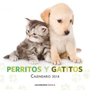 CALENDARIO PERRITOS Y GATITOS 2018