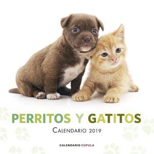 CALENDARIO PERRITOS Y GATITOS 2019
