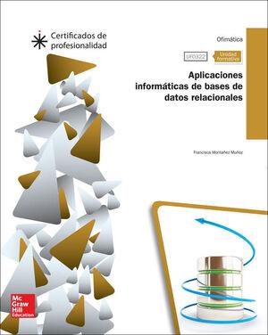 CERT - UFO322: APLICACIONES INFORMATICAS DE BASES DE DATOS RELACIONALES.