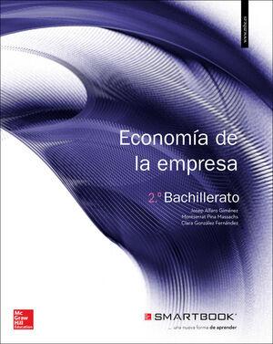 LA+SB ECONOMIA DE LA EMPRESA 2 BACHILLERATO. LIBRO ALUMNO + SMARTBOOK.