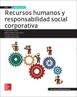 LA - RECURSOS HUMANOS Y RESPONSABILIDAD SOCIAL CORPORATIVA. LIBRO ALUMNO GS.