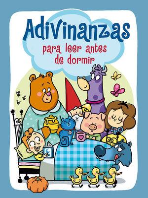 ADIVINANZAS PARA LEER ANTES DE DORMIR