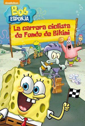 LA CARRERA CICLISTA DE FONDO DE BIKINI (BOB ESPONJA. PICTOGRAMAS)