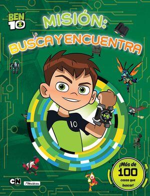 MISIÓN: BUSCA Y ENCUENTRA (BEN 10. ACTIVIDADES)