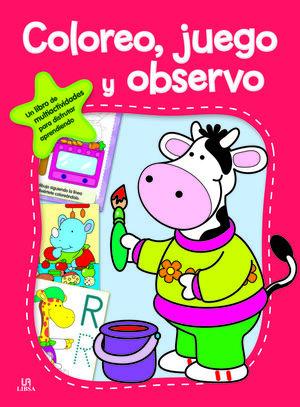 EXTRACTIVIDADES 2. COLOREO, JUEGO Y OBSERVO
