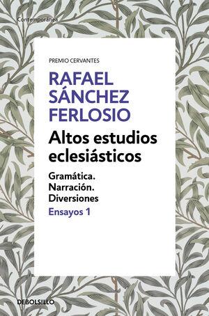 ALTOS ESTUDIOS ECLESIASTICOS (ENSAYOS 1) (CONTEMPO