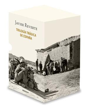 TRILOGÍA TRÁGICA DE ESPAÑA (ESTUCHE CON: BANDERAS EN LA NIEBLA  EL TIEMPO DE LO