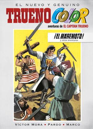 ¡EL MAREMOTO! Y OTRAS AVENTURAS DE EL CAPITÁN TRUENO (TRUENO COLOR 14)