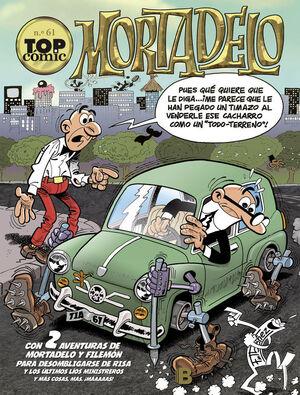 EL BRUJO  EL HUERTO SINIESTRO (TOP CÓMIC MORTADELO 61)