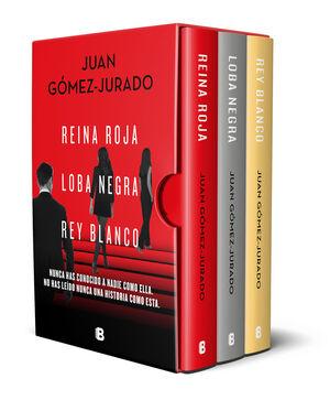 TRILOGÍA REINA ROJA (EDICIÓN PACK CON: REINA ROJA;LOBA NEGRA;REY BLANCO)