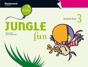 LITTLE JUNGLE FUN 3 STUDENT'S PACK