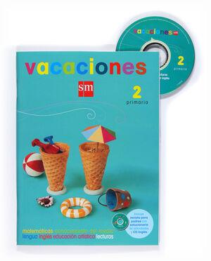 VACACIONES. 2 PRIMARIA