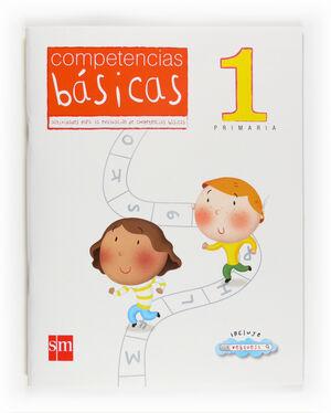 COMPETENCIAS BÁSICAS. 1 PRIMARIA