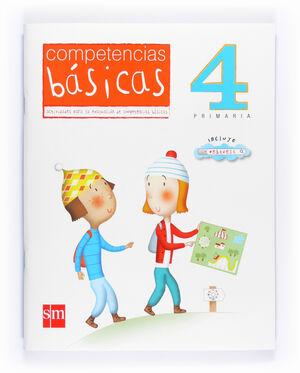 COMPETENCIAS BÁSICAS. 4 PRIMARIA