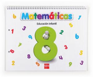 MATEMÁTICAS 8. EDUCACIÓN INFANTIL