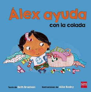 ÁLEX AYUDA CON LA COLADA