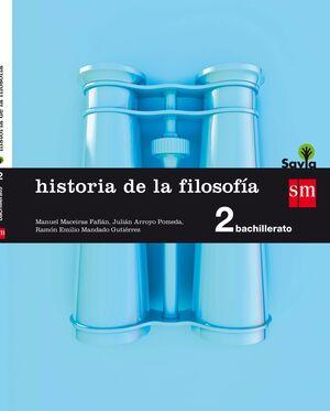 HISTORIA DE LA FILOSOFÍA. 2 BACHILLERATO. SAVIA